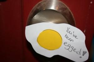house got egged