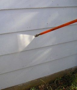 exterior DIY cleaning