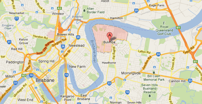 House Washing Bulimba QLD map