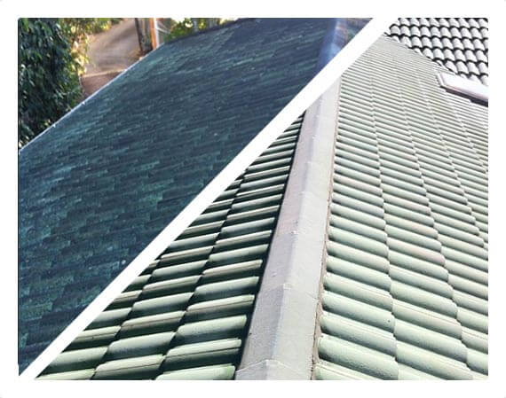 Photo of dirty roof | Roof cleaning service by House Washing Experts Brisbane