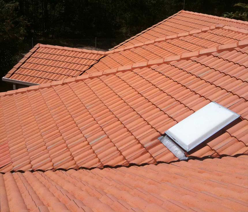 Photo of roof after roof cleaning | Roof Cleaning Service
