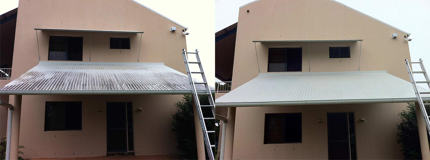 Before and After_Roof Cleaning Brisbane