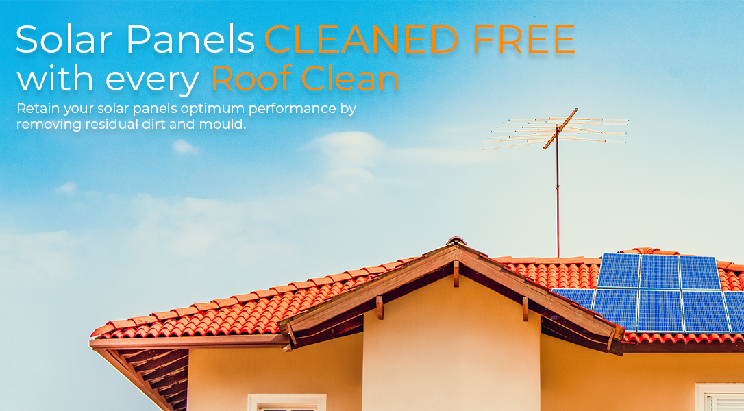 Roof Cleaning Brisbane | Free Solar Panel Cleaning Banner
