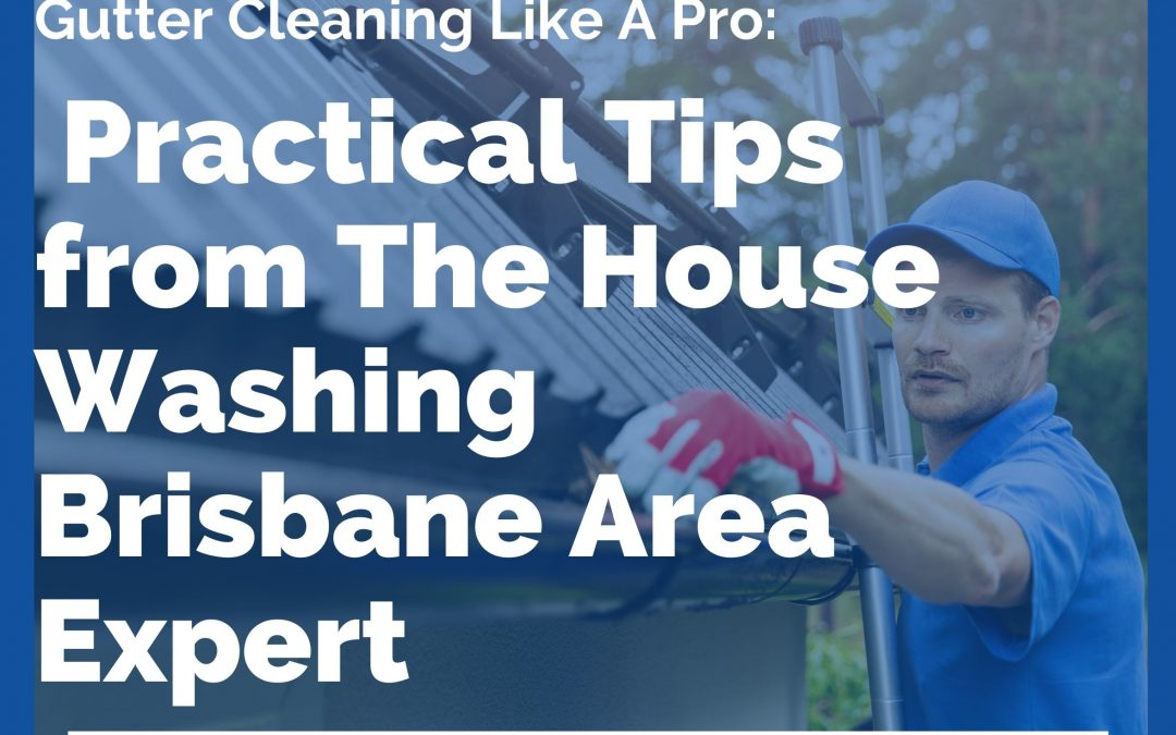 Gutter Cleaning Like A Pro: Practical Tips from The House Washing Brisbane Area Expert