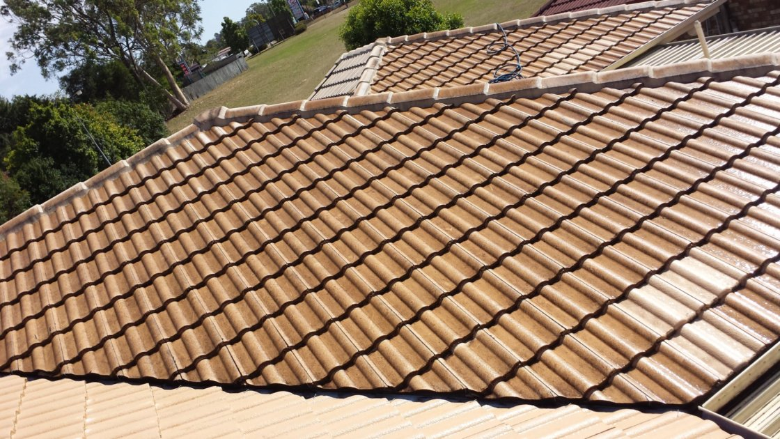 Before Cleaning Image | Roof Cleaners in Brisbane