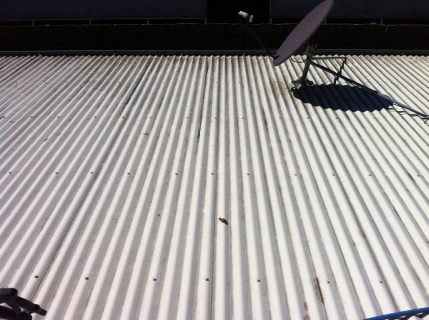 Before Roof Cleaning