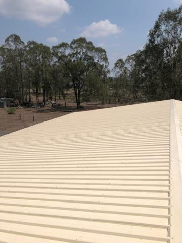 Photo of a clean roof
