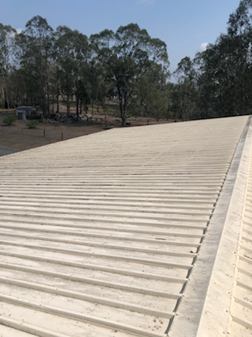 Photo of dirty roof | Roof cleaning service by House Washing Experts