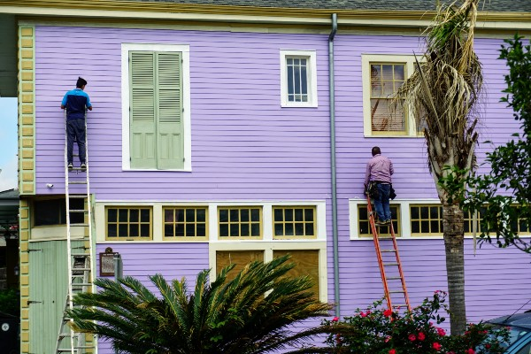 wall siding cleaning
