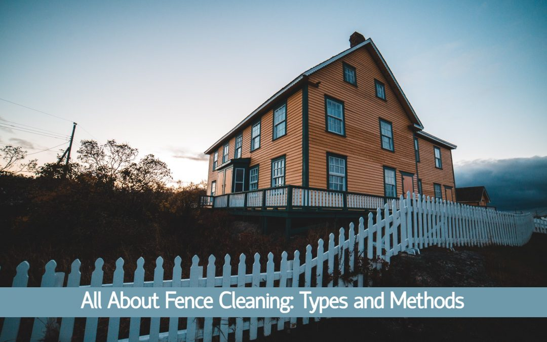 Fence Cleaning: Types and Different Methods