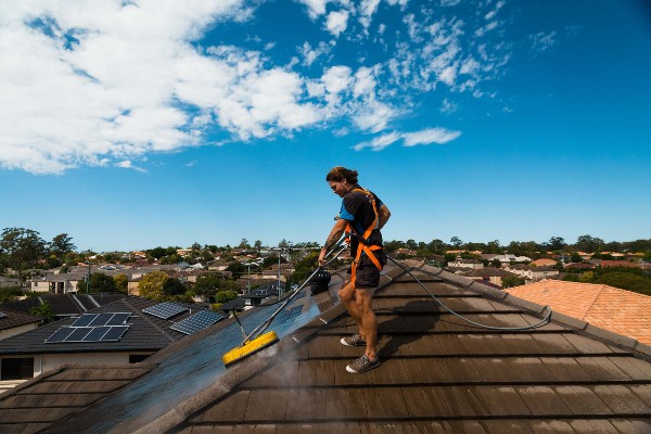 roof cleaning method