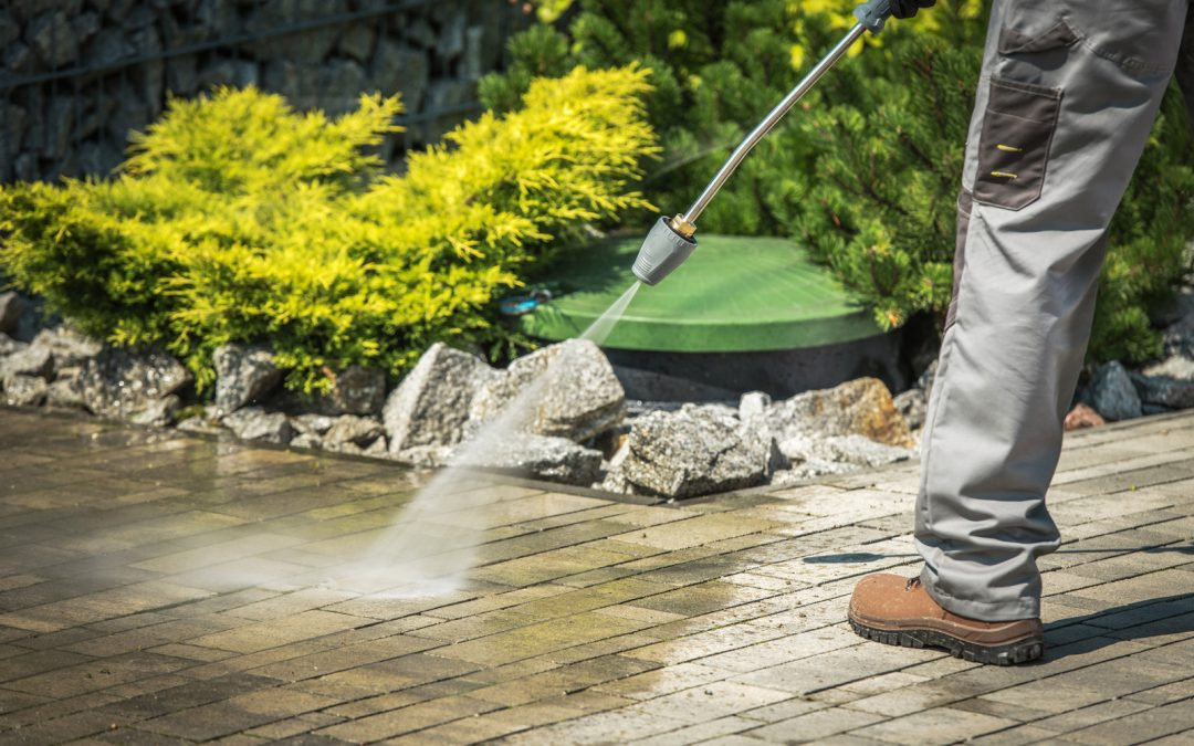 How Does Pressure Washing Sanitise Your Home
